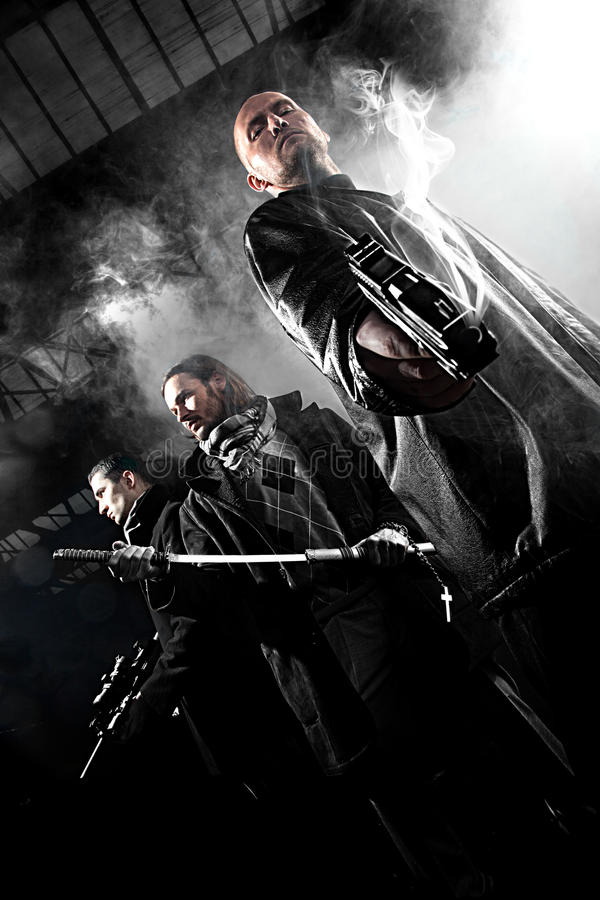 Gangster fotografia stock