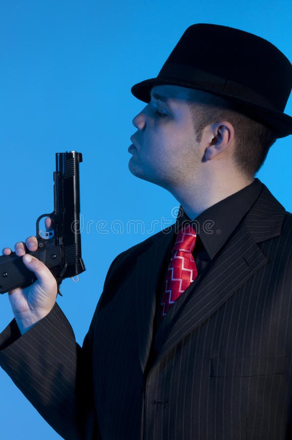 Gangster stock images