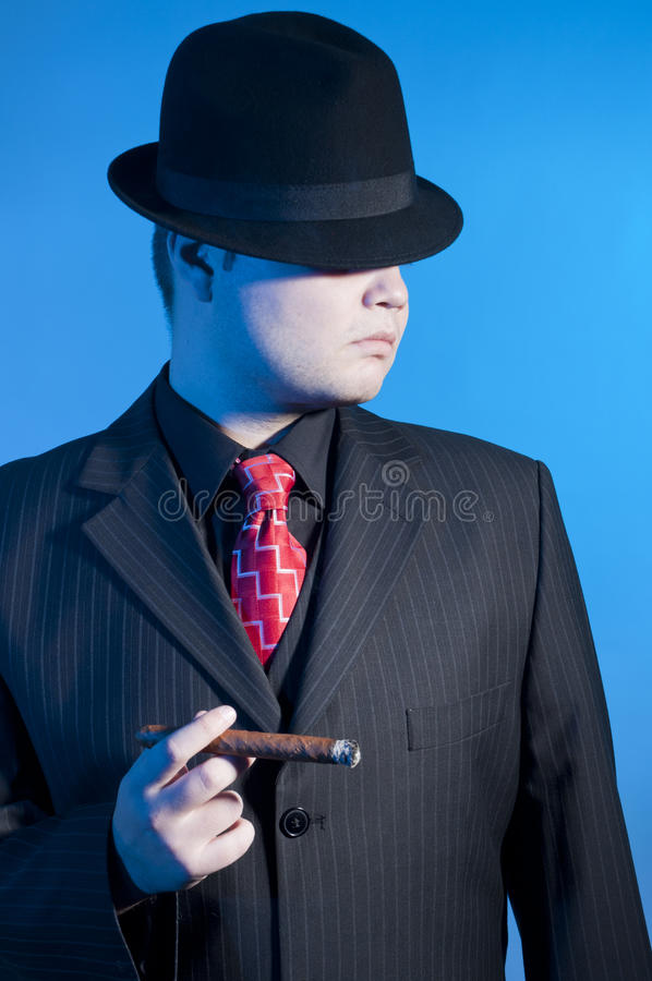 Gangster royalty free stock photos