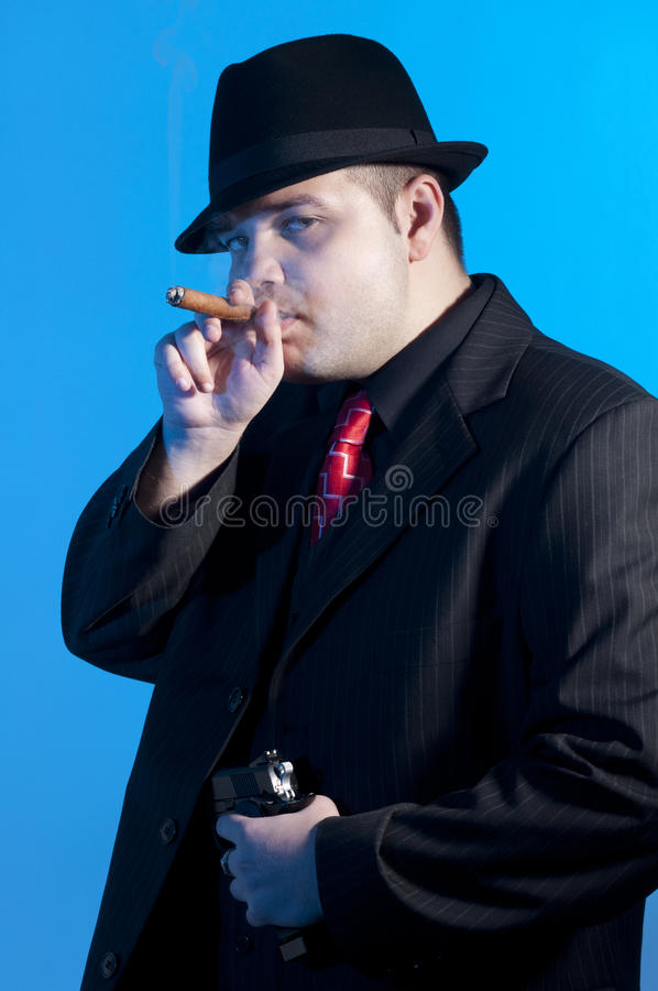 Gangster royalty free stock image