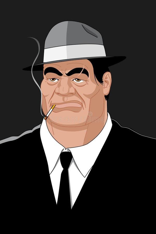 gangster ilustracja wektor