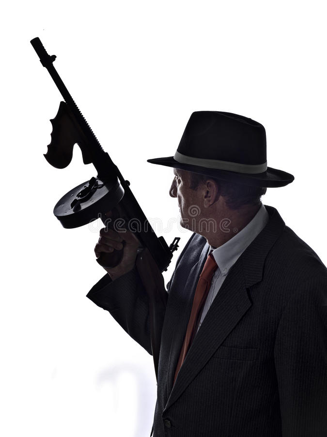 gangster obrazy royalty free