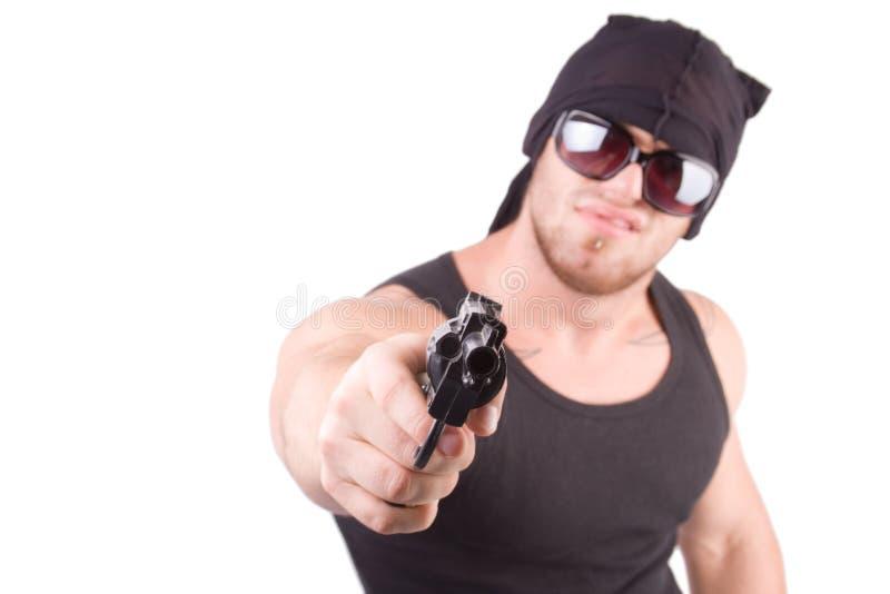 Gangster stockbild