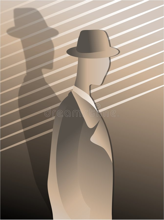 Download Gangster stock illustrationer. Illustration av illustration - 83594