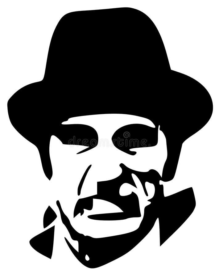 Gangster illustrazione vettoriale