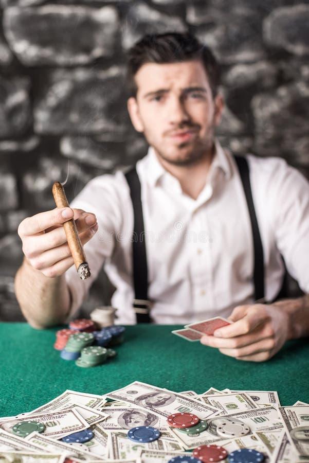 gangster poker imagens de stock royalty free