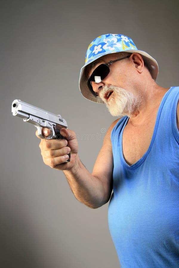 gangstera pistolet zdjęcia stock
