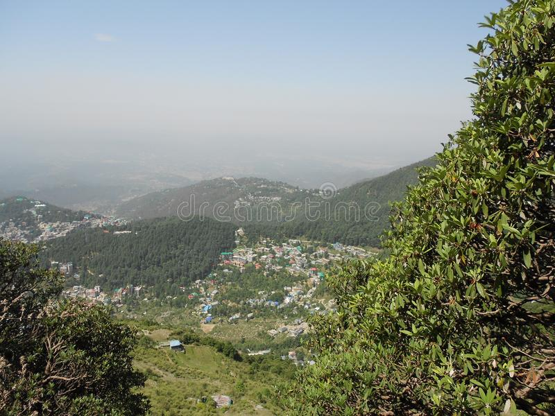 Gangtok, la capitale du Sikkim, Inde photos stock