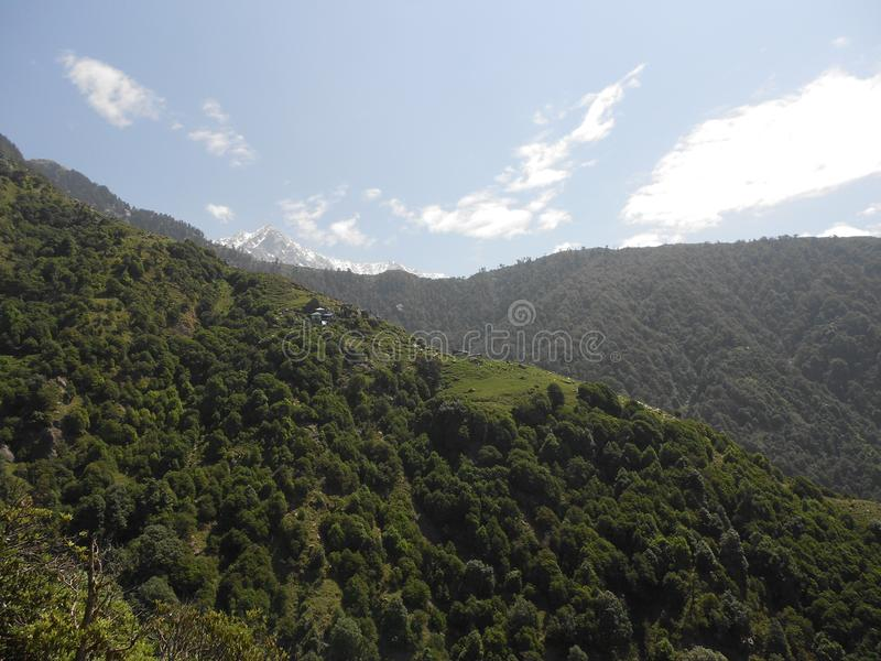 Gangtok stolica Sikkim, India obraz stock