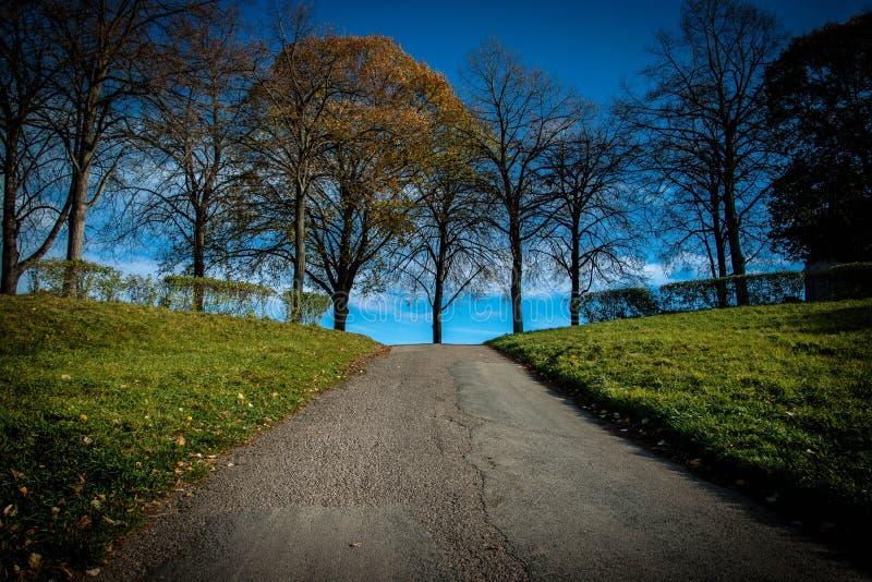Gangweg stock foto