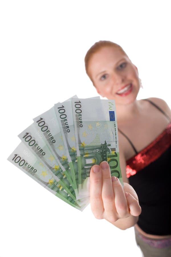 Ganhado! fotografia de stock royalty free