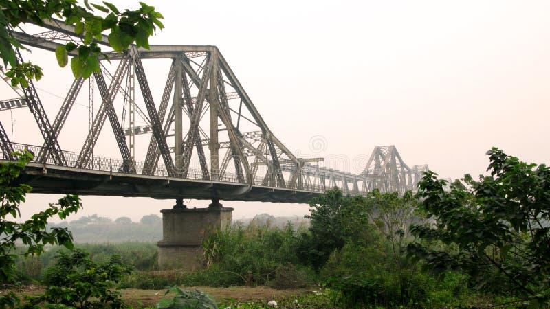 Gankowy Horyzontalny most Rzuca wyzwanie czas zdjęcie stock