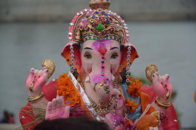 Ganpati Bappa royalty-vrije stock foto