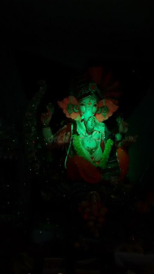 Ganpati Bappa stock afbeelding