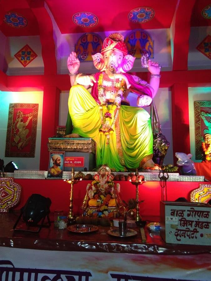 Ganpati festival stock photography