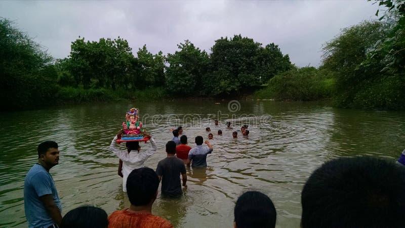 Ganpati (Ganesha) festiwal zdjęcia royalty free