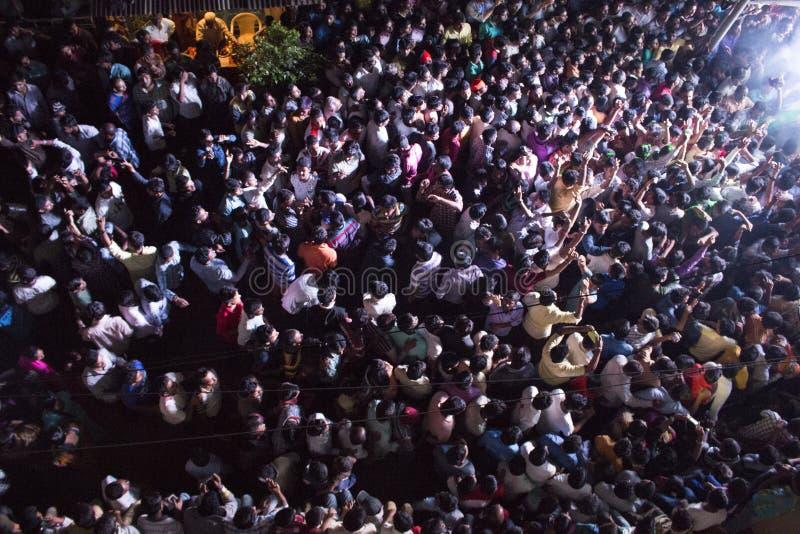 Ganpati-Prozession stockfotos