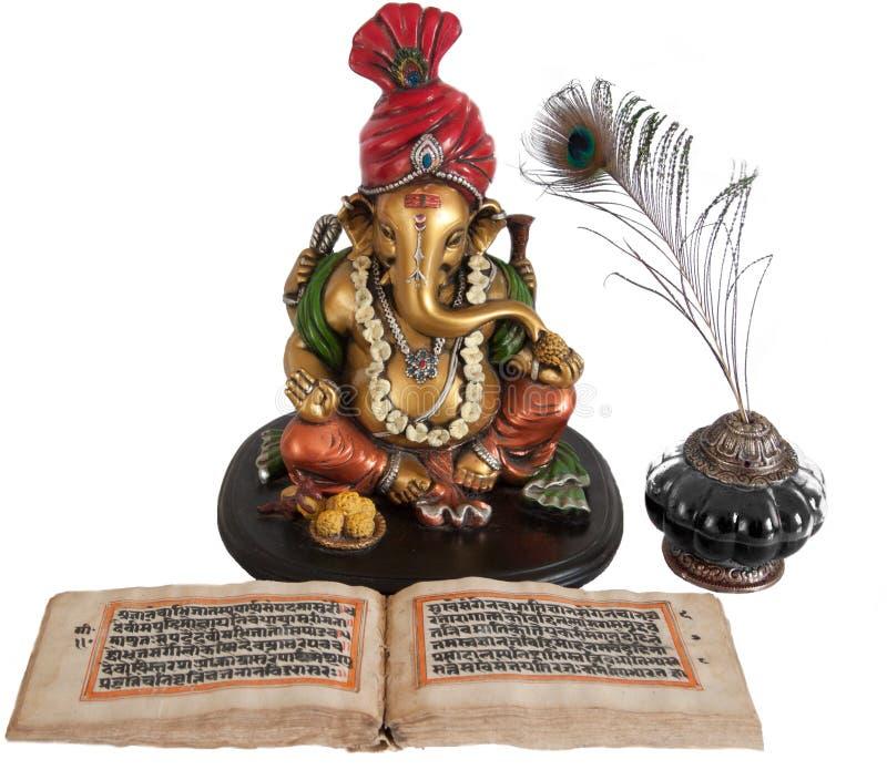 Ganpati, senhor Hindu de Begnning novo fotografia de stock royalty free
