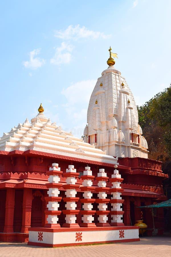Ganpatipule-Tempel - ein alter hindischer Tempel in Ratnagiri, Maharashtra, Indien lizenzfreie stockbilder