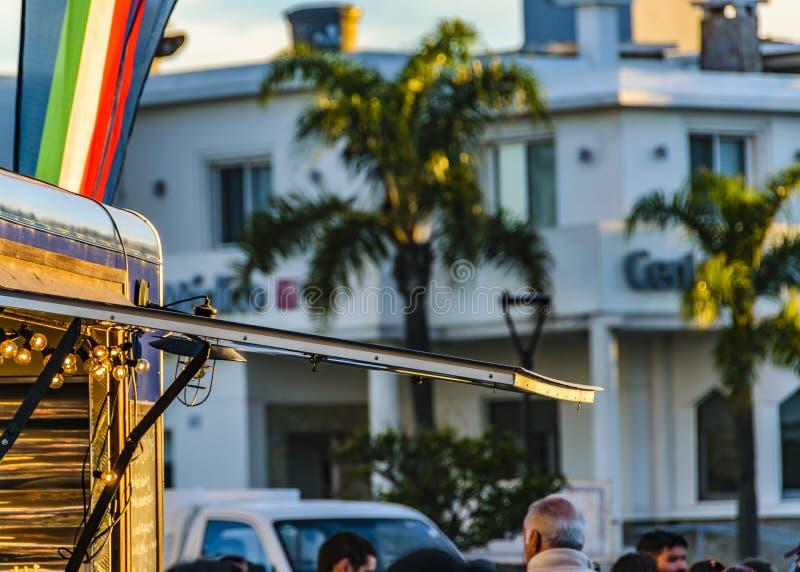 Ganska händelse för gata, Montevideo, Uruguay royaltyfria bilder