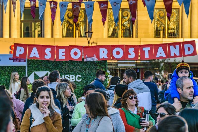 Ganska händelse för gata, Montevideo, Uruguay royaltyfri fotografi