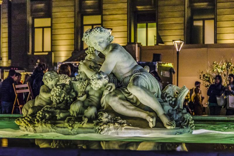 Ganska händelse för gata, Montevideo, Uruguay royaltyfria foton