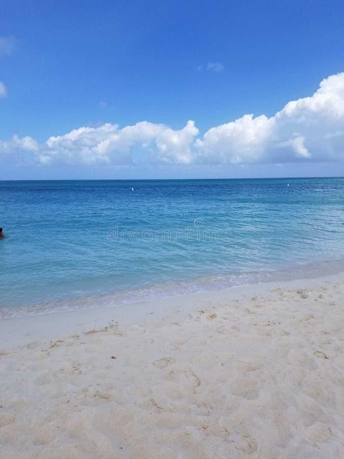 Ganska strand i hawaii fotografering för bildbyråer