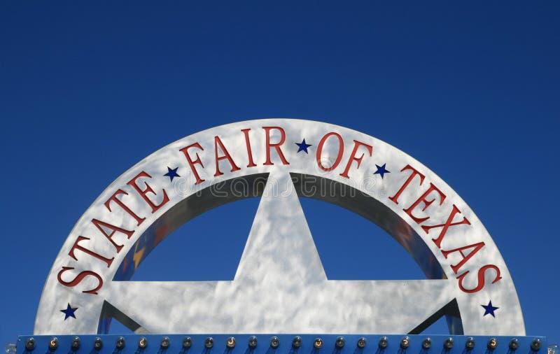 ganska teckentillstånd texas arkivbilder
