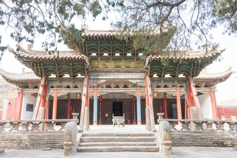 GANSU, CHINA - Apr 08 2015: Wuwei Confucian Temple (Wuwei Wen Mi. Ao). a famous historic site in Wuwei, Gansu, China stock photo