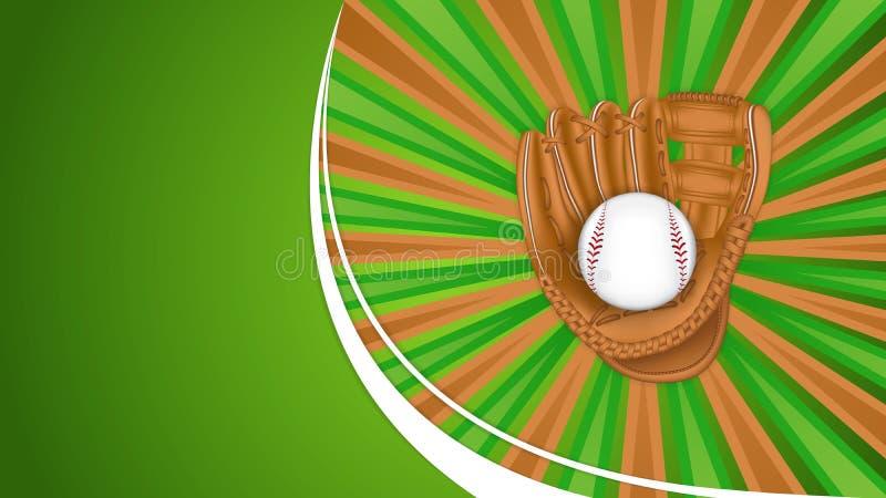Gant de base-ball illustration de vecteur