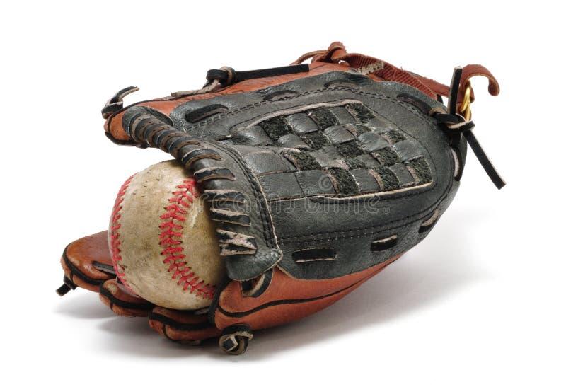 Download Gant de base-ball vieux image stock. Image du matériel - 8655455