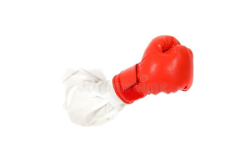 Gant de boxe, main. images libres de droits
