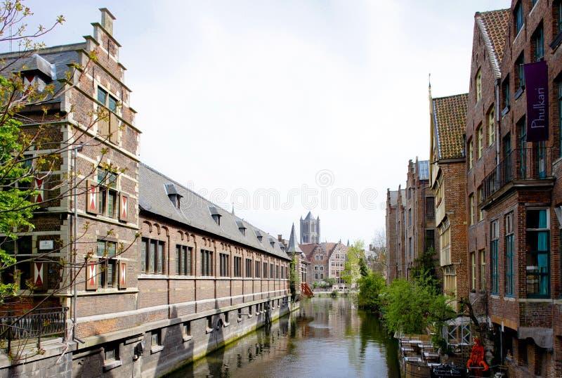 Gante, Flandes, B?lgica imagen de archivo