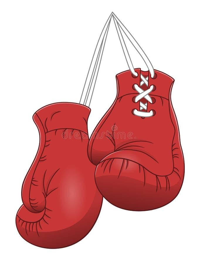 Gants de boxe illustration de vecteur