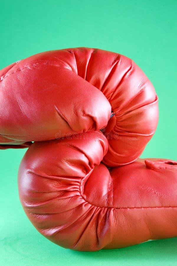 Gants de boxe rouges photos libres de droits