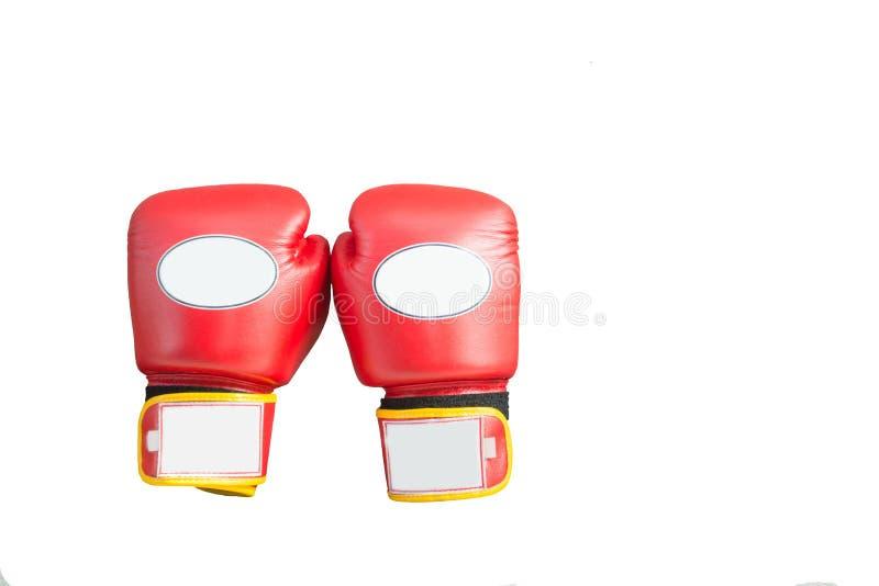 Gants de boxe rouges images stock