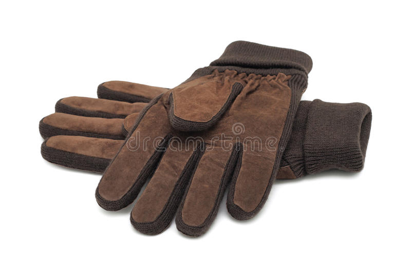 Gants de l'hiver, d'isolement images stock