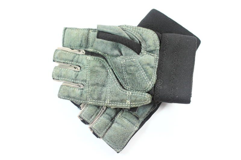 Gants en cuir photo libre de droits