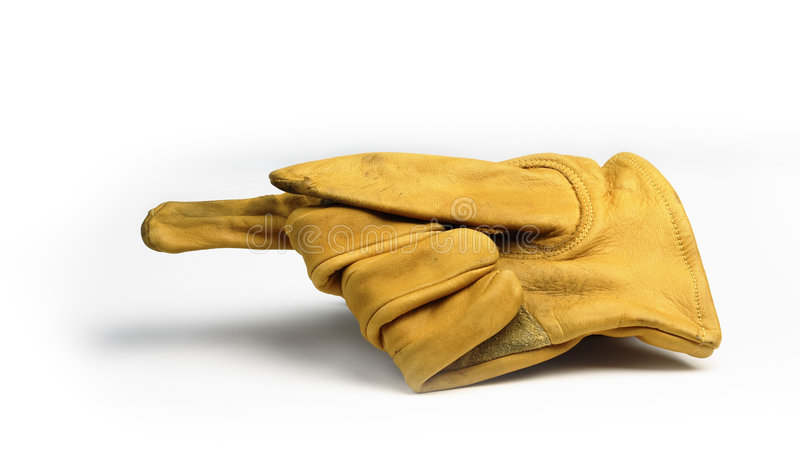 Gants fonctionnants photo stock