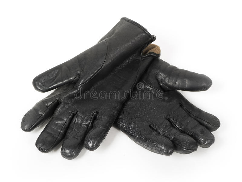Gants noirs photos libres de droits