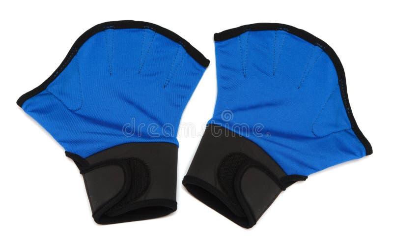 Gants pour l'aérobic photo stock