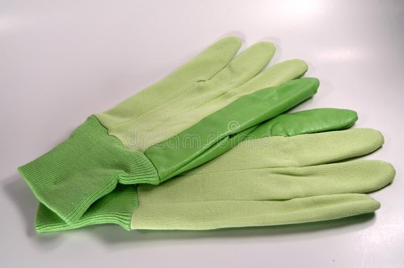 Gants verts photos stock