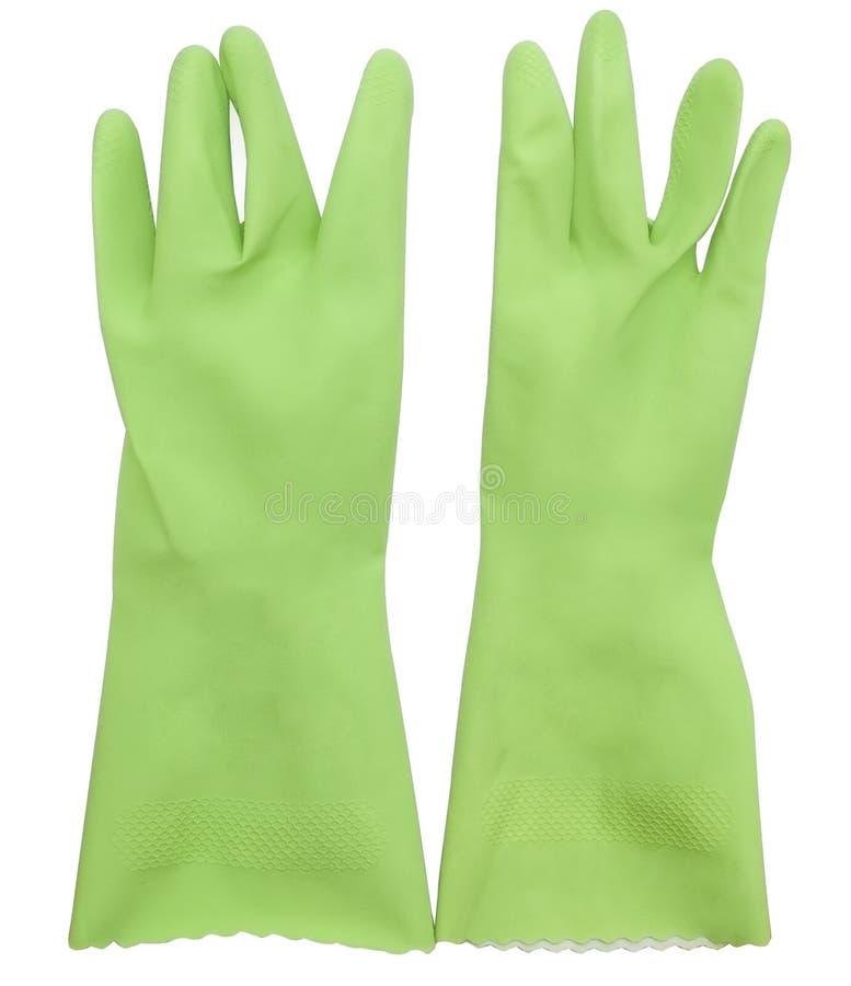 Gants verts photos libres de droits