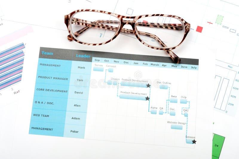 Download Gantt diagram stock photo. Image of organization, plan - 29622046