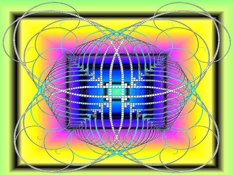 Ganz getan mit Kaugummi vektor abbildung