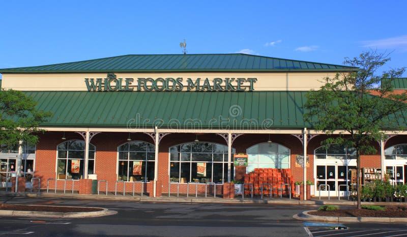 Ganzer Nahrungsmittelmarkt stockfotos