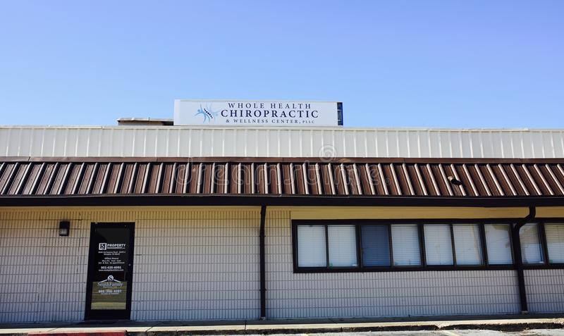 Ganzes Gesundheits-Chiropraktik-Büro, Memphis, TN stockfoto