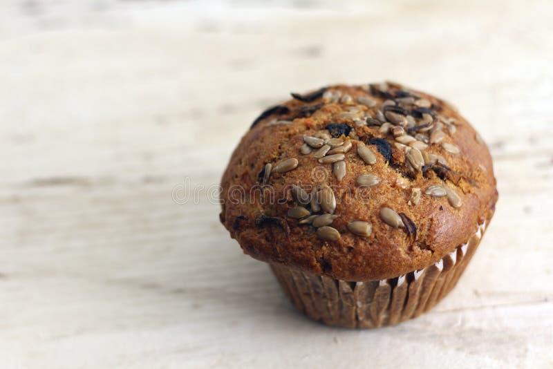 Ganzes Korn-Muffin stockbild
