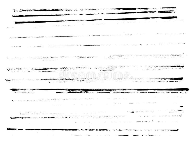 Ganzseite der Zeilen vektor abbildung