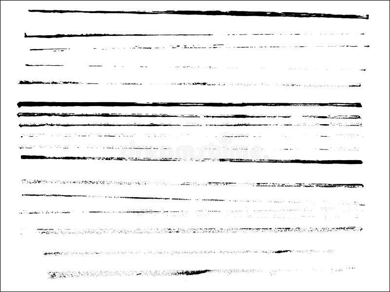 Ganzseite von Zeilen 3 stock abbildung